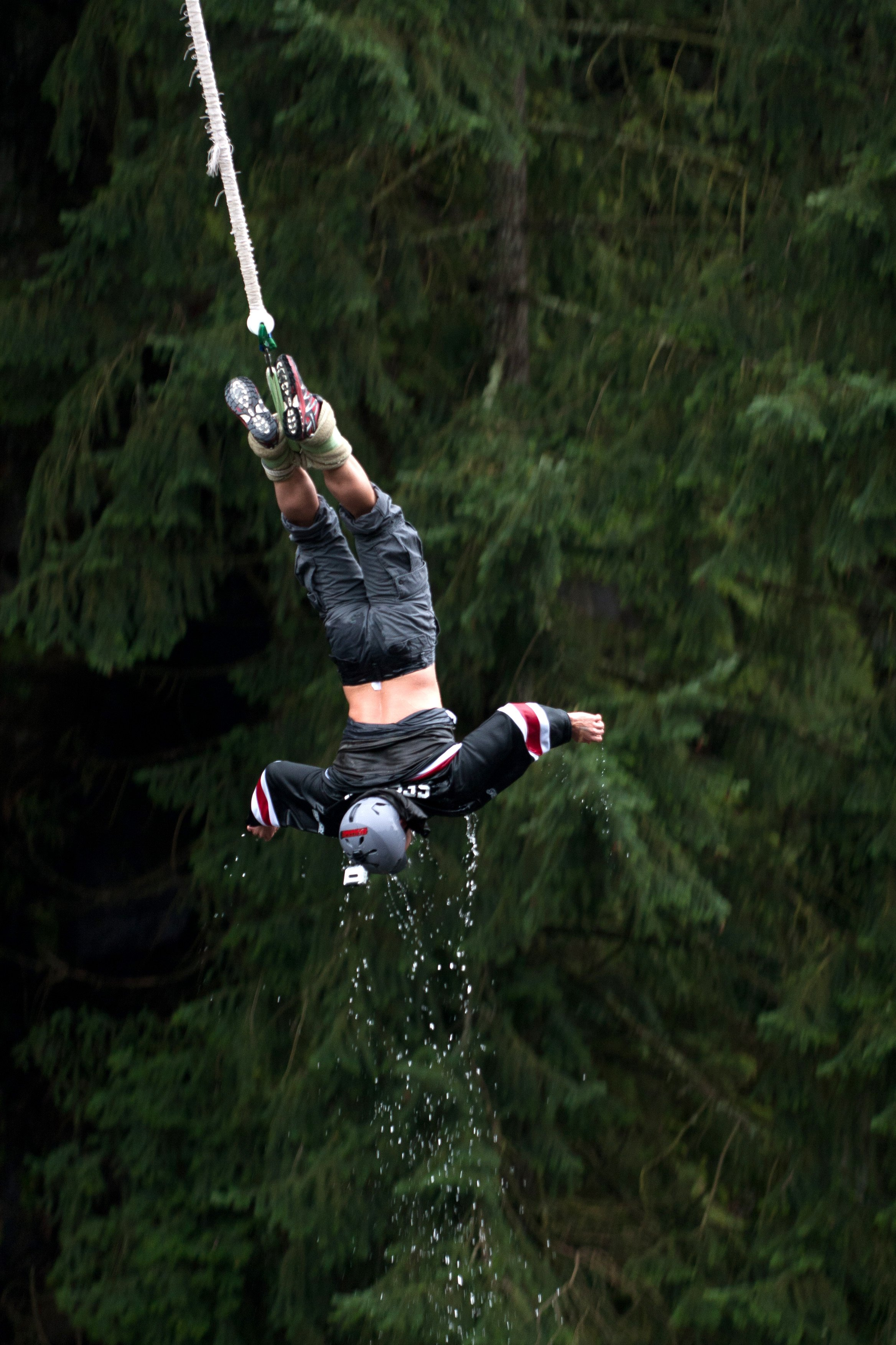 bungy Jumping on a rest day