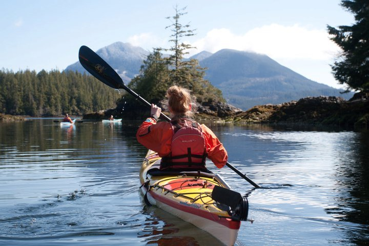 Sea Kayaking in Ucluelet