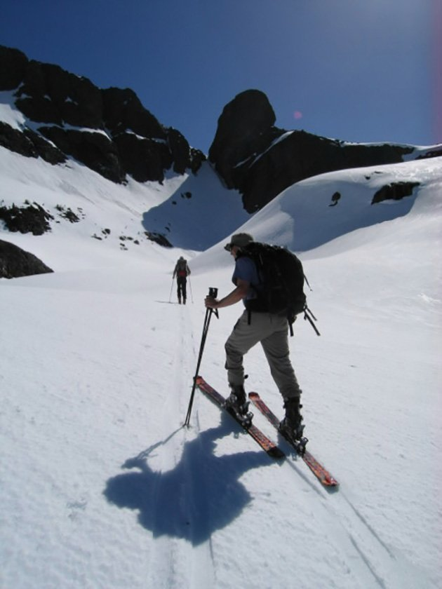 Backcountry Ski Touring on Vancouver Island