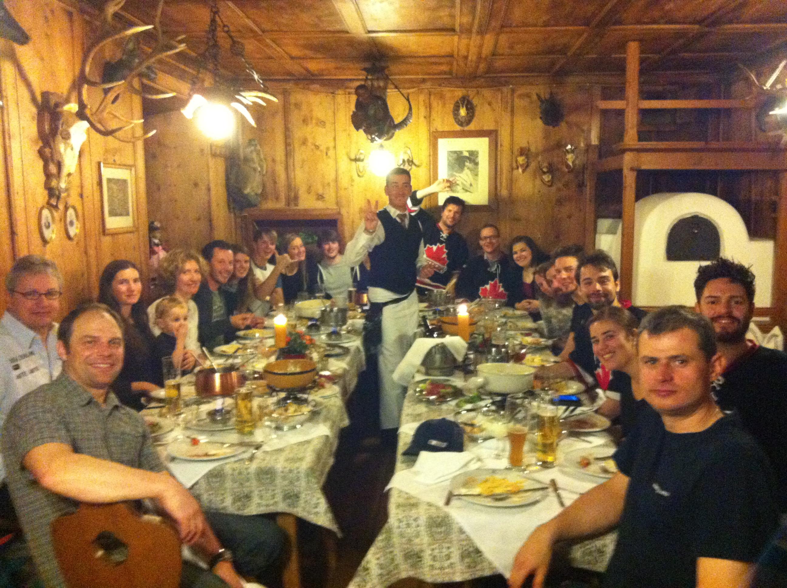 Super Austrian Dinner - Martin Loves Section 8!