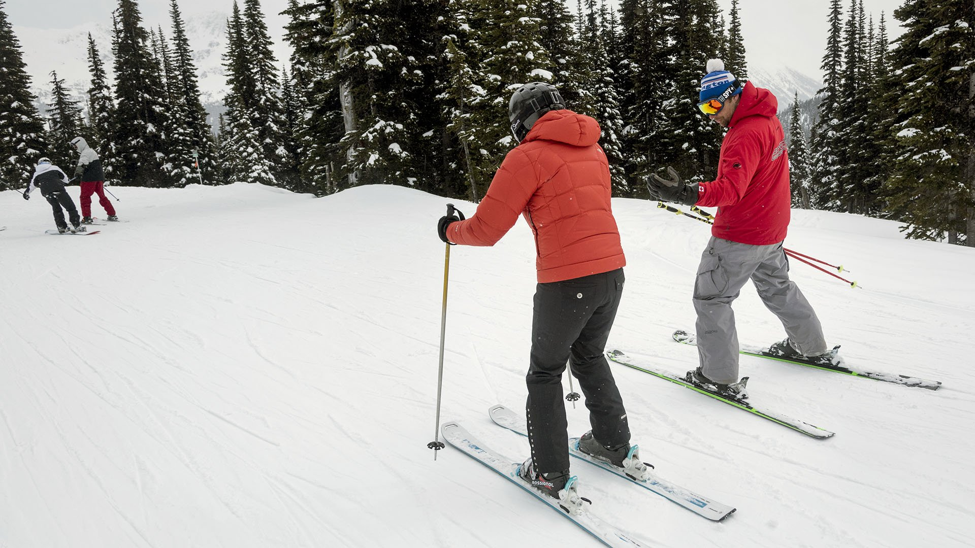 Private ski coaching & custom designed courses for groups - Photo by Keith Levitt