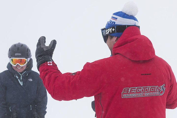 CSIA level 1 ski instructor courses in Revelstoke Canada