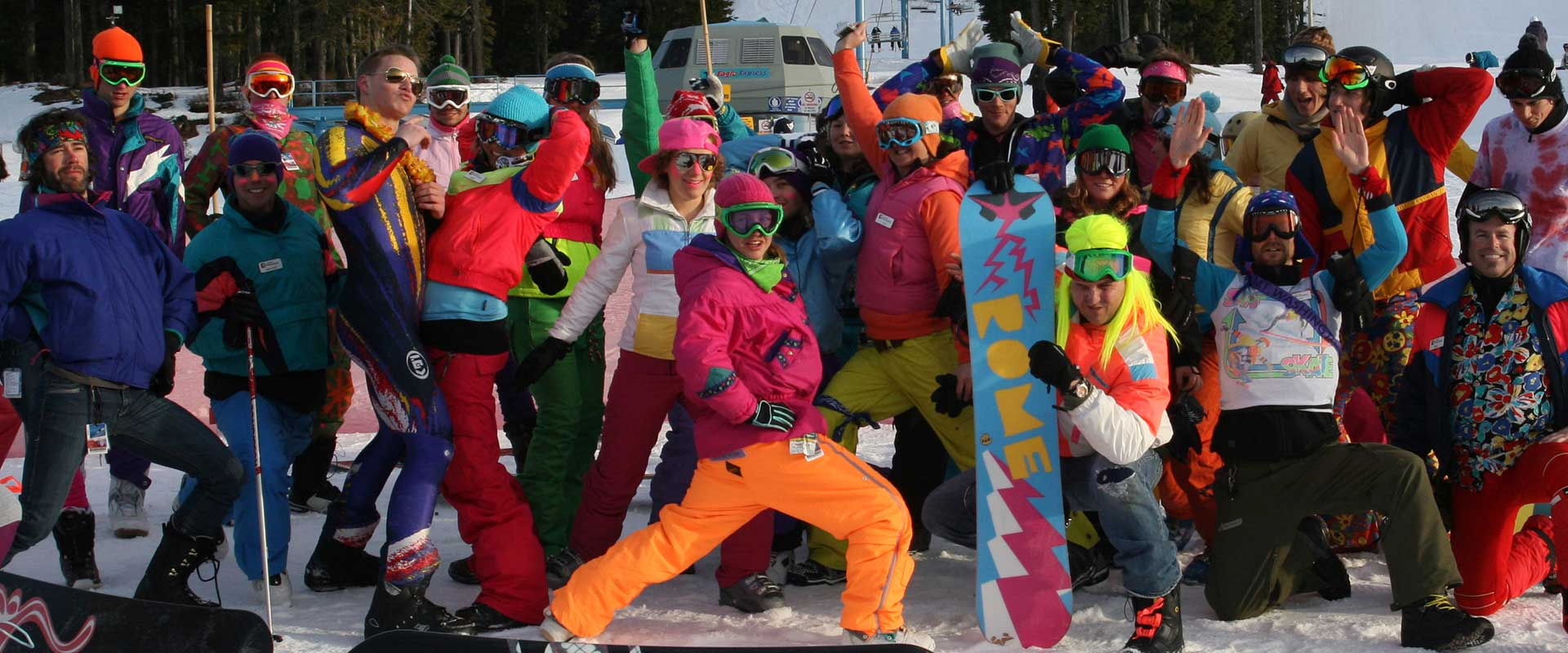 The worlds funnest ski and snowboard training