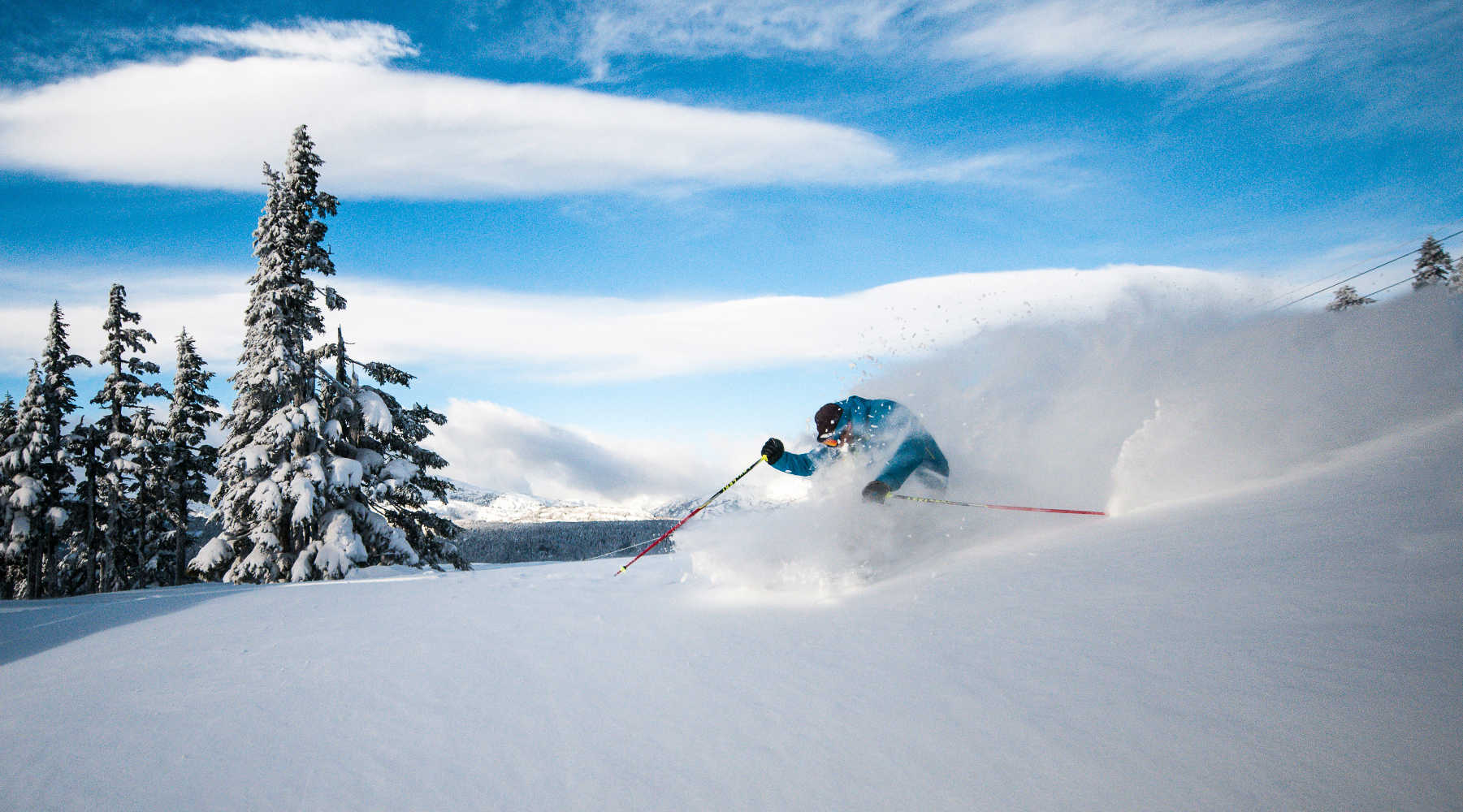 Deep powder skiing camps in Japan