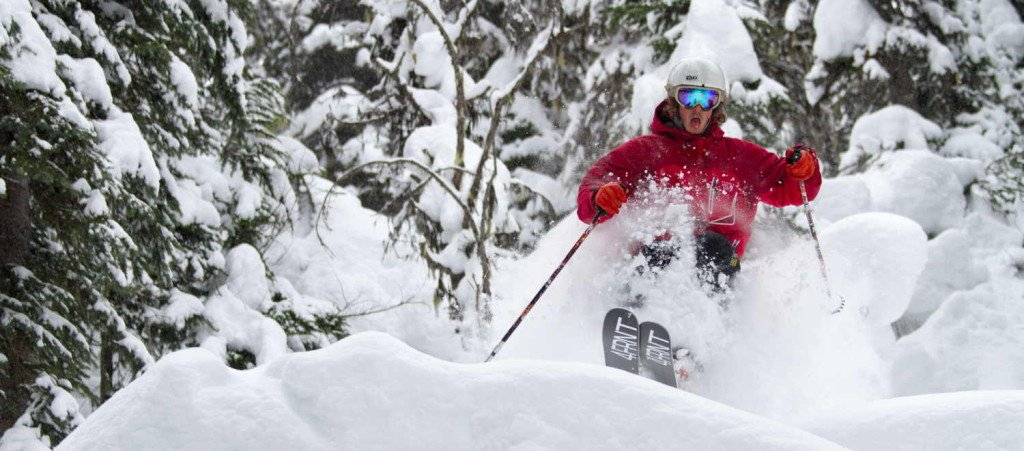 Revelstoke Tree Skiing Powder Pillows